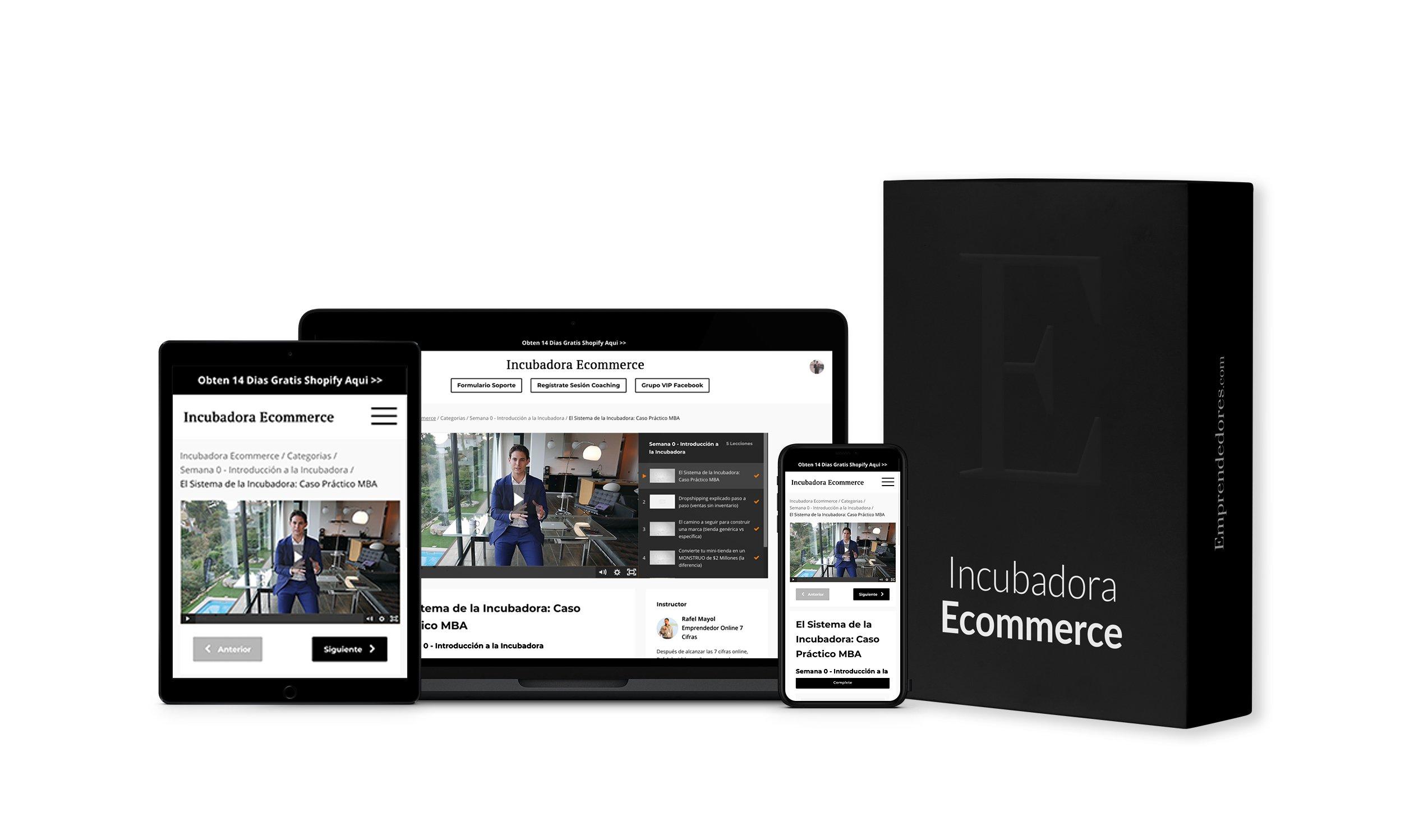 curso incubadora ecommerce